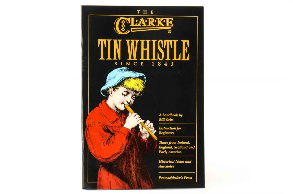 Clarke Tin Whistle Tutor - Book/CD