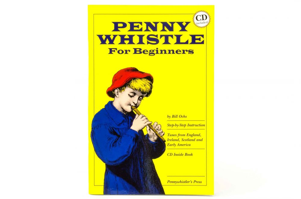 Penny Whistle for Beginners - Book/CD