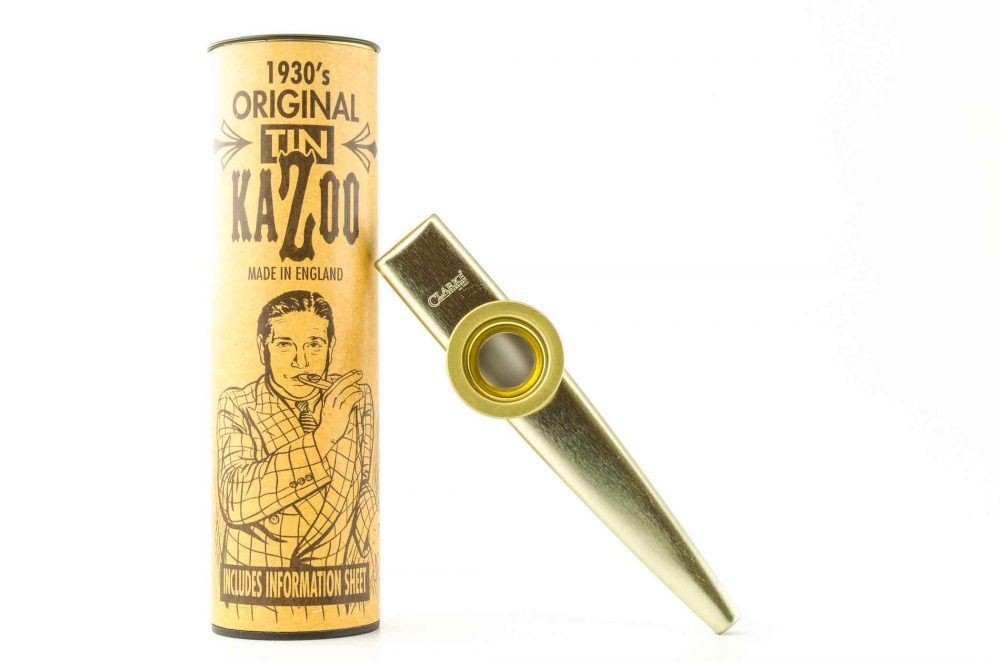Standard Kazoo - Gold - with storage tube