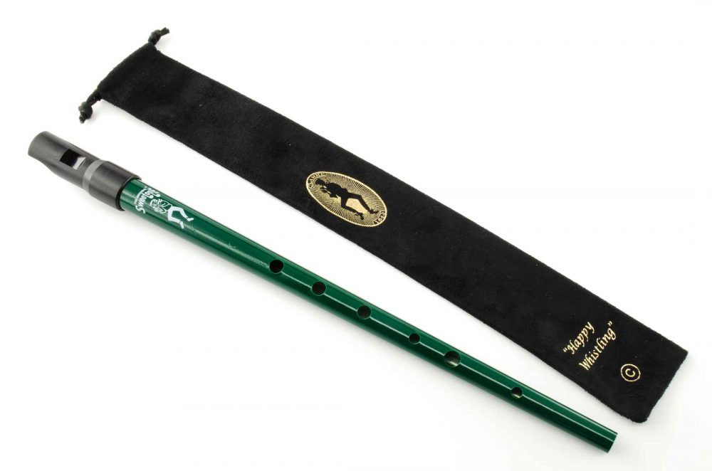 Sweetone C Tinwhistle with Pouch - Green