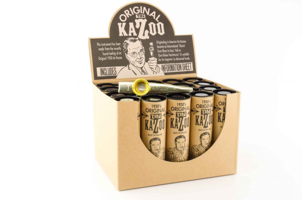 Premium XL Kazoo - Gold - 20 Pack