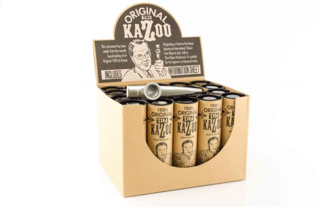 Premium XL Kazoo - Silver - 20 Pack