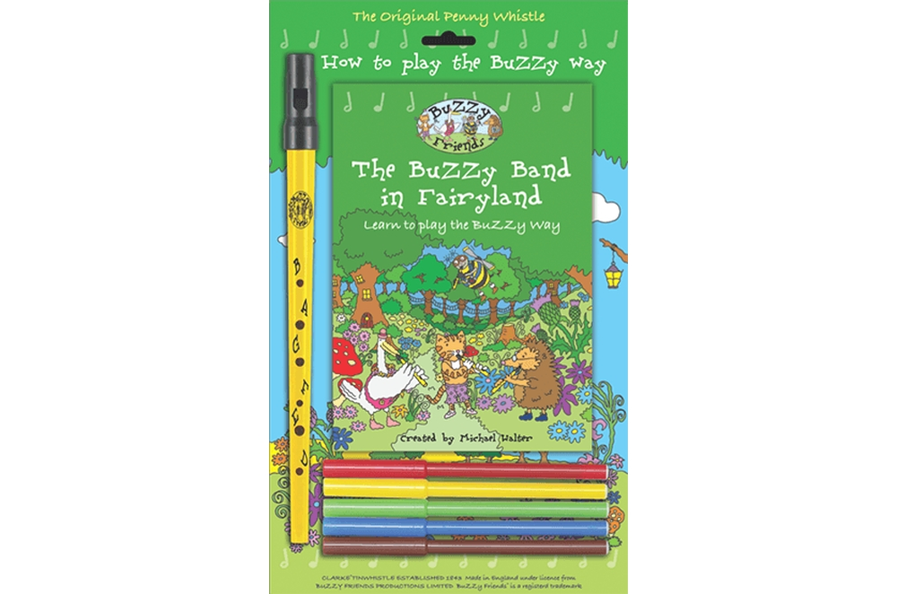 Buzzy Band Whistle and Book Gift Pack